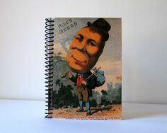 The Potato Man Spiral Notebook 4 x 6 by Ciaffi on Etsy, $12.50