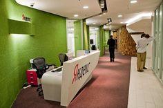 Офис компании Яндекс. В Адрес495 есть офисы не хуже!