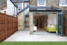 Separate side and rear kitchen extension in Balham. Separate side and rear kitchen extension in Balham. 1930s House Extension, Orangery Extension, House Extension Design, Extension Designs, Glass Extension, Extension Ideas, Single Storey Extension, Side Return Extension, Rear Extension