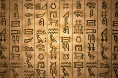 History of Egyptian Hieroglyphics