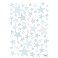 Muurstickers Sterren Superstar Gentle Sky van Lilipinso hier online kopen. Mooie muurstickers met sterren voor op babykamer of kinderkamer.