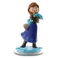 Frozen's Anna Disney Infinity figure #disney #disneyinfinity