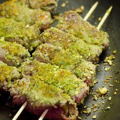 Braciolettine - Paupiettes de bœuf en brochettes