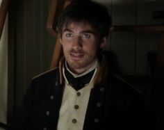 Killian Jones - or aka Captain  Hook.   the Actor is Colin O'donoghue. People keep putting his name as Killian Jones but that's Hook's name. I never knew that.
