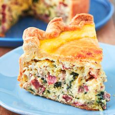 A Giant Deep Dish Quiche With The World's Flakiest Crust. Called a Pizza Rustica I Delish Pizza Rustica, Quiche Recipes, Pie Recipes, Cooking Recipes, Snack Recipes, Deep Dish, Breakfast Quiche, Breakfast Recipes, Brunch Recipes