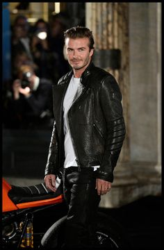 David Beckham attending the Belstaff House Opening in London. - 3 of 14