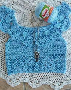 Fabulous Crochet a Little Black Crochet Dress Ideas. Georgeous Crochet a Little Black Crochet Dress Ideas. Crochet Tank Tops, Crochet Blouse, Crochet Lace, Crochet Bikini, Simple Crochet, Crochet Summer, Crochet Bodycon Dresses, Black Crochet Dress, Crochet Designs