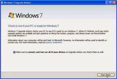 Cách nâng cấp Windows XP lên Windows 7