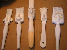 Brushes with personality