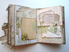 Paperiah: Pink Paislee Hope Chest and Tim's new worn covers! Journal Paper, Art Journal Pages, Journal Covers, Journal Sample, Paper Piecing, Art Journal Tutorial, Mini Scrapbook Albums, Handmade Journals, Art Journal Inspiration
