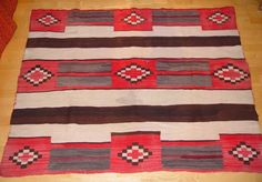 Second phase Navajo Chief Blanket 060516-02  AAIA, Inc. deals in antique & contemporary Native American Indian art and artifacts. We Buy, Sell, Consign, Appraise, Restore & Research. #Antique #American #Indian #Art (949) 813-7202 mwindianart@gmail.com