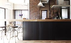 日進市マンションリノベーション Loft, Architecture, Kitchen, Table, Industrial, Furniture, Twitter, Design, Home Decor
