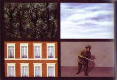 L obsession - (Rene Magritte)