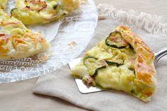 torta salata con zucchine e patate,torta con zucchine,zucchine e patate,torta salata,le ricette di tina,
