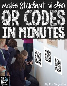 How to make video QR Codes using YouTube, SafeShareTv and a Batch Entry QR Google Spreadsheet! Following this I can make a class set of QRs in minutes.
