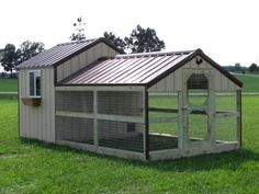 "The ""Town & Country"" Chicken Coop"