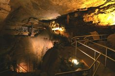 The Most Beautiful Caves in the World - Mammoth Cave, Kentucky, USA