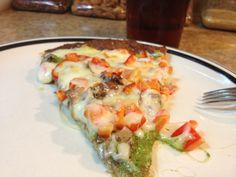 Pesto Pizza Quick, Easy and Healthy