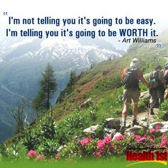 Has anything worthwhile in life been easy? http:/hstriad.com