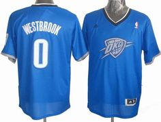 Oklahoma City Thunder 0# Russell Westbrook 2013 Christmas Day Swingman Jersey 24.5$