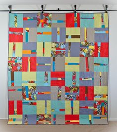 Amy a la Mode Quilts | Not So Straight and Narrow Quilt by Amy Hodge