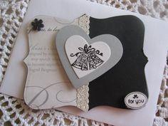 Stampin' Up Handmade Gift Card Holder: Wedding Theme (YOU PICK)