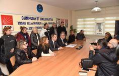 Belediye Başkanı Ülgür Gökhan, basın mensuplarıyla bir araya gelerek güncel konulara ilişkin değerlendirmelerde bulundu.