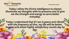 Purpose 807 Peace
