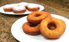 Donuts caseros Clásicos con azúcar y Rellenos!!