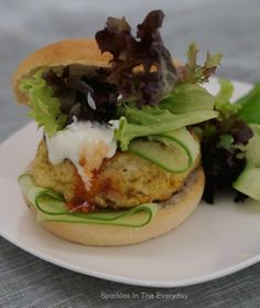 Delicious Chicken Madras Burgers... (Gluten free) - Sparkles in the Everyday!