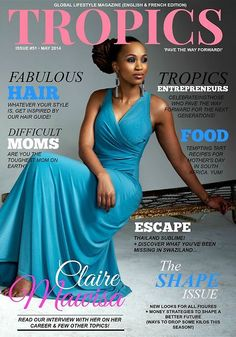 An interview with Claire Mawisa on Tropics Magazine Lion And Lioness, Radio Personality, I Dare You, Healthy Women, Turban, Locs, Claire, Your Style, Interview