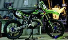 Kawaski Motorcycle Build by AussieMX Kawasaki Dirt Bikes, Dirtbikes, Motocross, Bicycle, Motorcycle, Building, Bike, Mtb Bike, Bicycle Kick