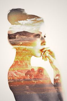 where the mind, in thought, contains the ocean and the stars the spheres and their confines... Double Exposure <3