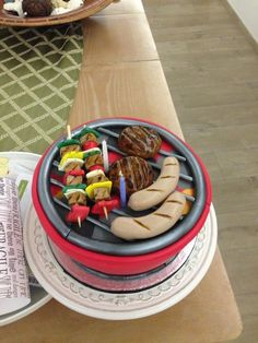 Bbq birthday cake by Pavlov's Lab