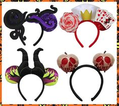 Halloween Time_Halloween Mickey Ears I. WANT. THEM. ... ALL OF THEM.