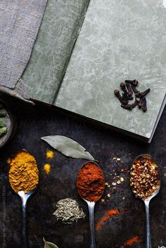 Herbs and spices. by Darren Muir