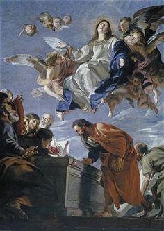 Juan Martín Cabezalero, La Asunción de la Virgen (ca. 1660, Museo Nacional del Prado, Madrid)