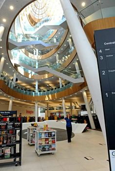 Liverpool Central Library revamped and looking rather smart - SW