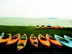 Kayaking, my favorite thing to do in the summer! <3