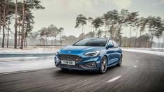 This is the new Ford Focus ST, which will have more power than ever before. Preparing to fight with Renault Megane R, Honda Civic Type R and the upcoming VW Gol Ford Gt, Ford Mustang, Mustang Cars, Ford Fiesta St, Ford Puma, Volvo S60, Peugeot 308 Gti, Volkswagen Golf Gti, Cars
