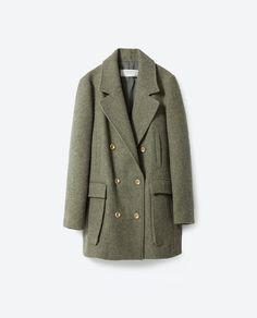 Manteau en laine - Zara