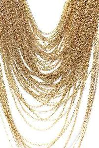 D27-Layered-Heavy-Chain-Gold-Statement-Necklace-Earring-Set-BNWT-Boutique-225