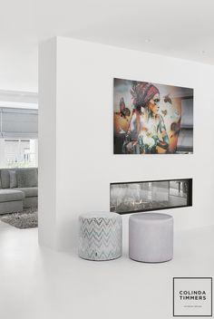 Woning Breda - Colinda Timmers Basil Pesto Recipes, Dining Table Design, Cabo, Modern Design, Interior Design, House, Home Decor, Hipster Stuff, Nest Design