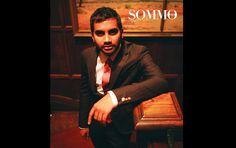 International comedian @mrazizansari in our upcoming issue! Follow us on Twitter @sommovita #beauty #substance #sommovita