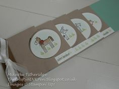 Mikaela Titheridge, Independent Stampin' Up! Demonstrator, The Crafty oINK Pen, Spaldwick, Cambridgeshire, UK SHOP thecraftyoinkpen.stampinup.net Barnyard Babies
