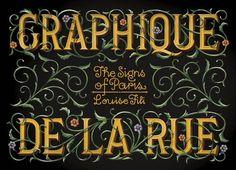 Graphique de la Rue: The Signs of Paris by Louise Fili…