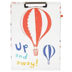 Just In Case clipboard and pad - NEW - Stationery - New for Spring