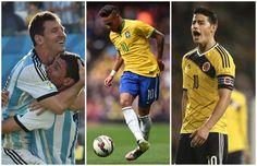 Los diez futbolistas más valiosos de la Copa América Centenario