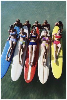 © Conde Nást Archive Surfer girls in Jantzen bikinis 1966