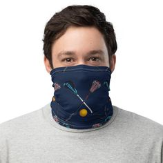 This neck gaiter is a versatile accessory that can be used as a face covering, headband, bandana, wristband, and neck warmer. Upgrade your accessory game and find a matching face shield for each of your outfits. Birthday Gifts For Boyfriend, Gifts For Dad, Just Because Gifts, Neck Warmer, Lacrosse, Fabric Weights, Birthday Ideas, Baseball Hats, Pattern